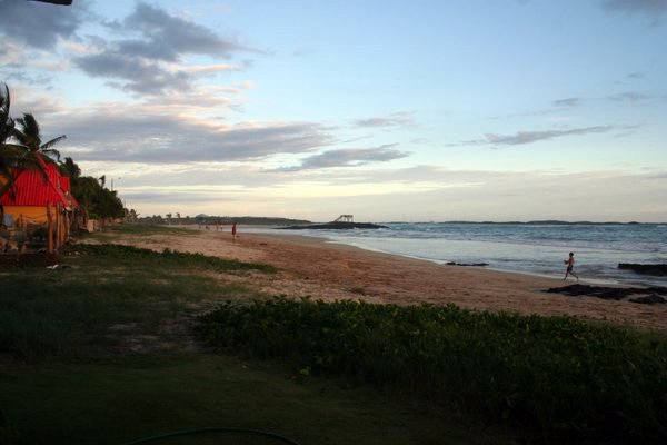 Local beach on Isabella