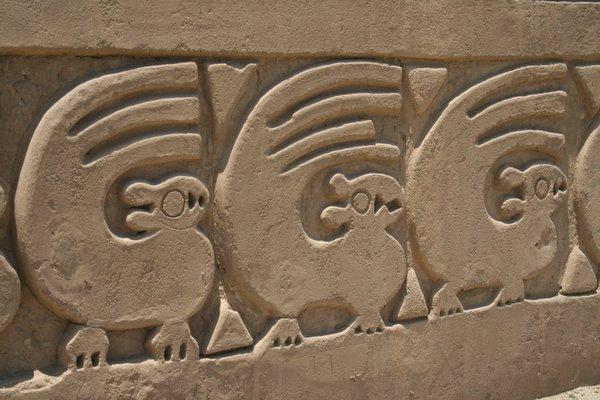 Chan Chan Inca Carving