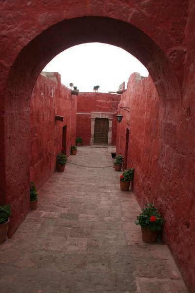 16th Century Santa Catalina nunnery